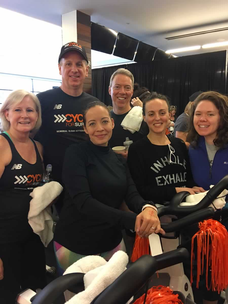 Team Modera spins in Cycle for Survival
