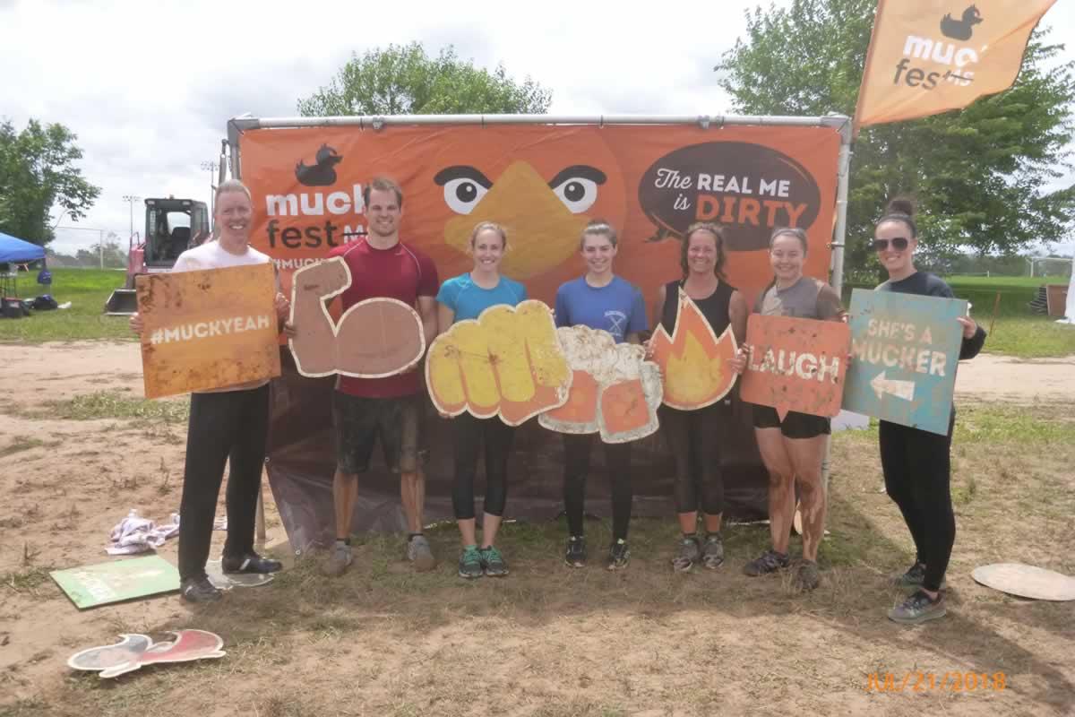 New Jersey Team at Muckfest 2018