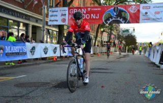 Chuck Roberson rides in Gran Fondo NJ