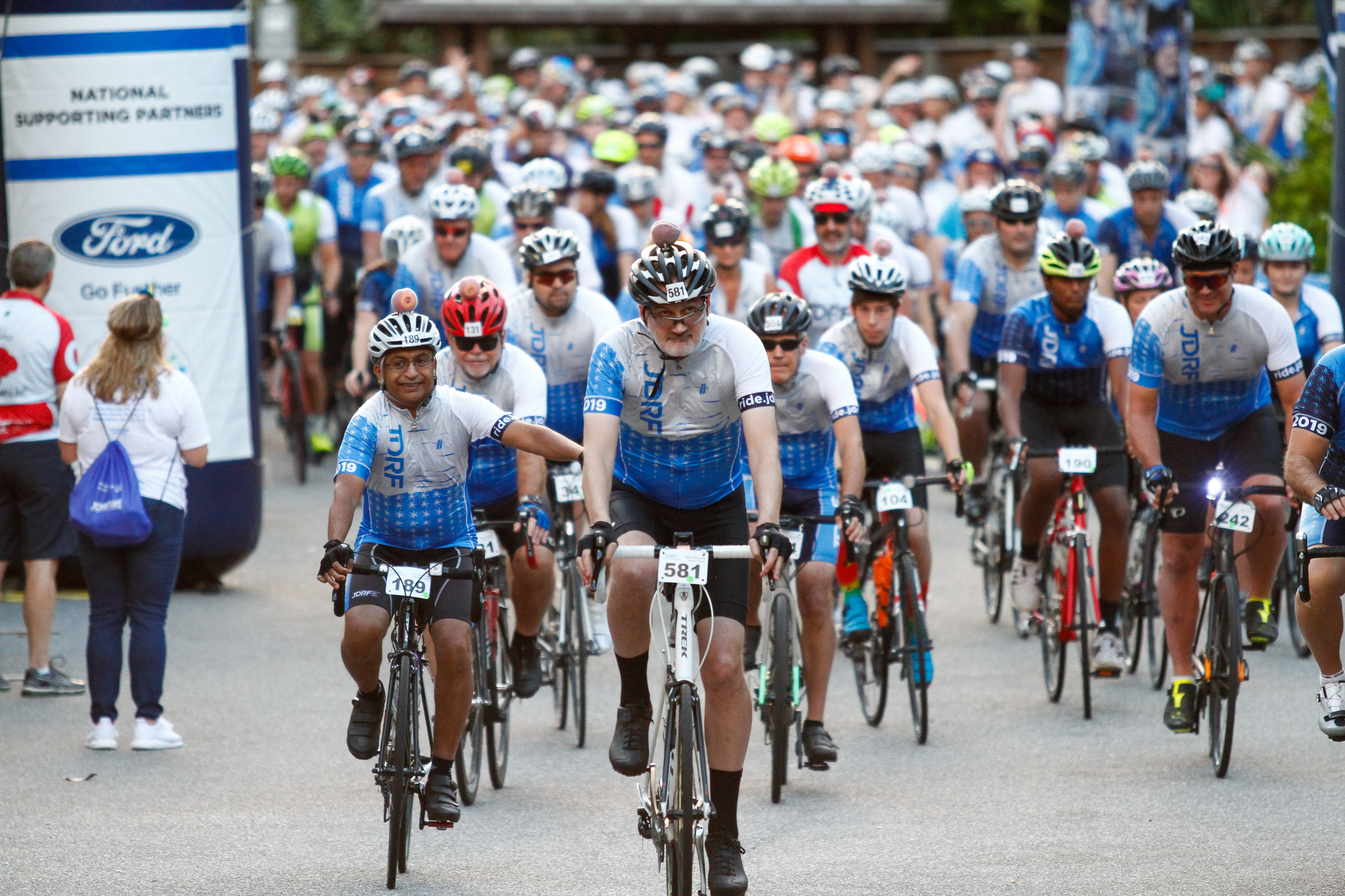 Mark Willoughby led a group of cyclists in participating in the JDRF (Juvenile Diabetes Research Foundation) Ride for the Cure on Amelia Island