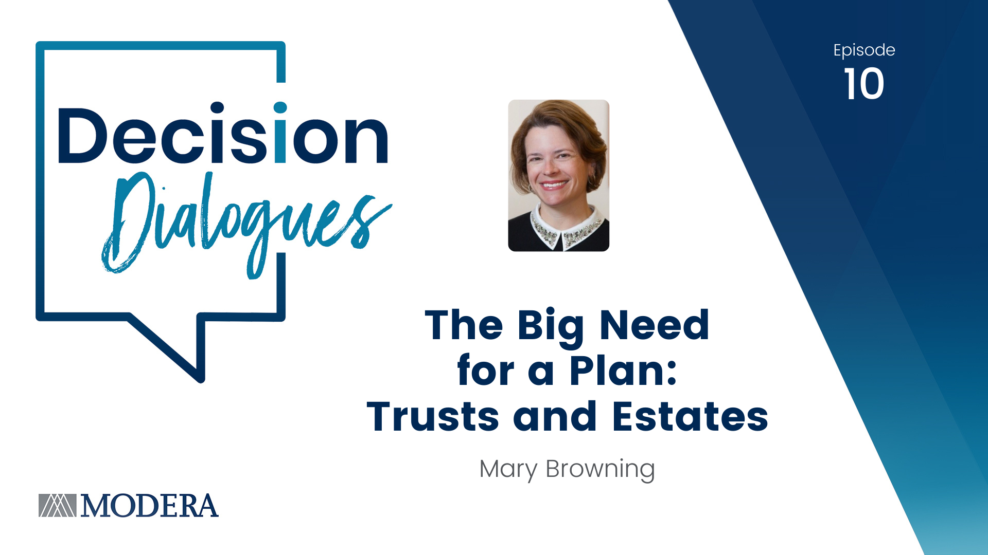 Decision Dialogues Episode 10 - Mary Browning